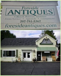 Foreside Antiques, Falmouth Maine
