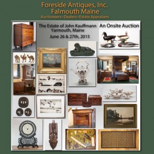 Our Services - Foreside Antiques estate auctioneers appraisers